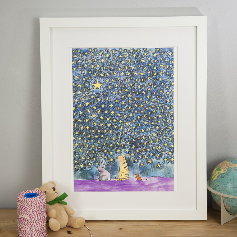 Copy of Three Friends Under the Stars - Sarah Lovell Art Top Drawer.jpg