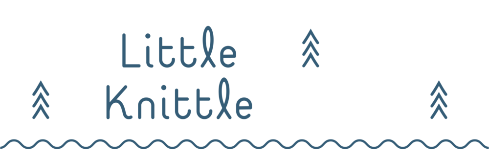 Little Knittle logo logo