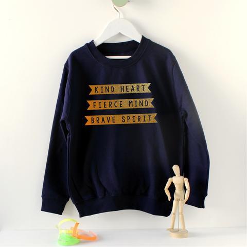 Scamp kids affirmation sweatshirt