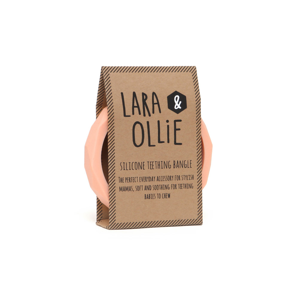 Lara and Ollie teething bangle