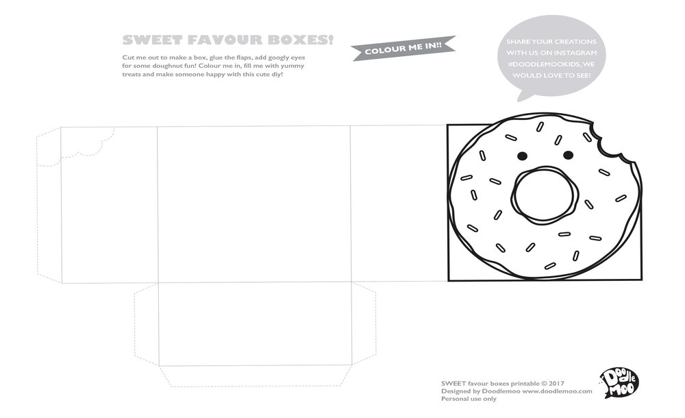 doodlemoo donut