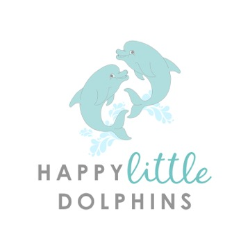 happy little dolphins logo