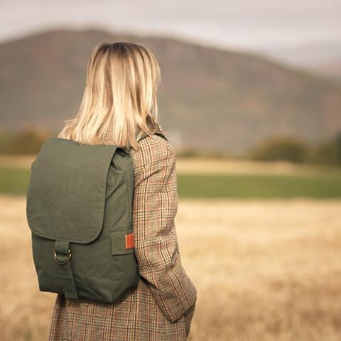 Bax and Bay Racing Green Zack rucksack, £129