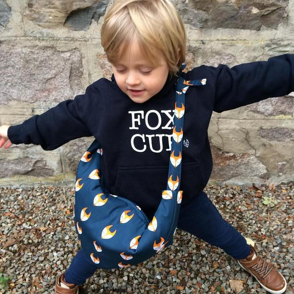 Bax and Bay kids fox cub sweatshirt, £26