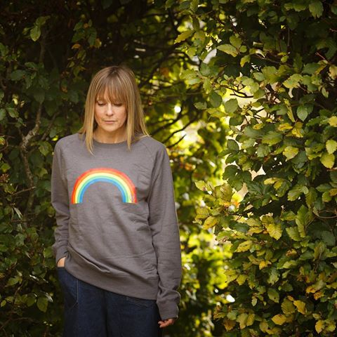 Bax and Bay rainbow print sweatshirt, £48
