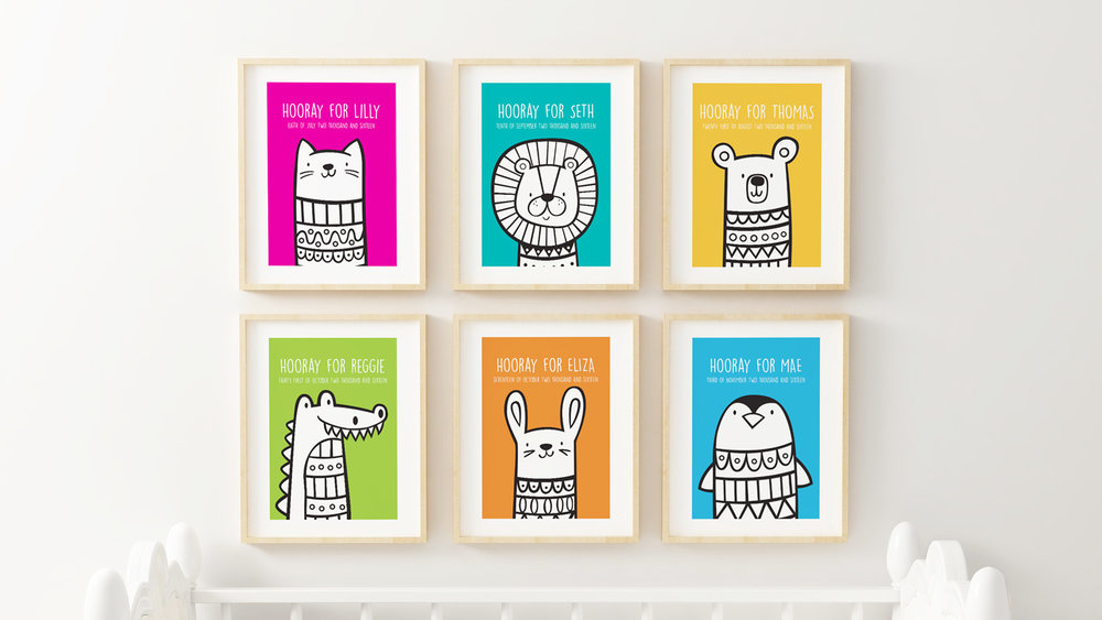 Sosoyoyo personalised prints