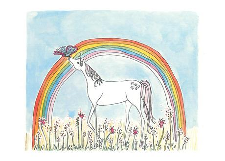 Sarah Lovell Unicorn print