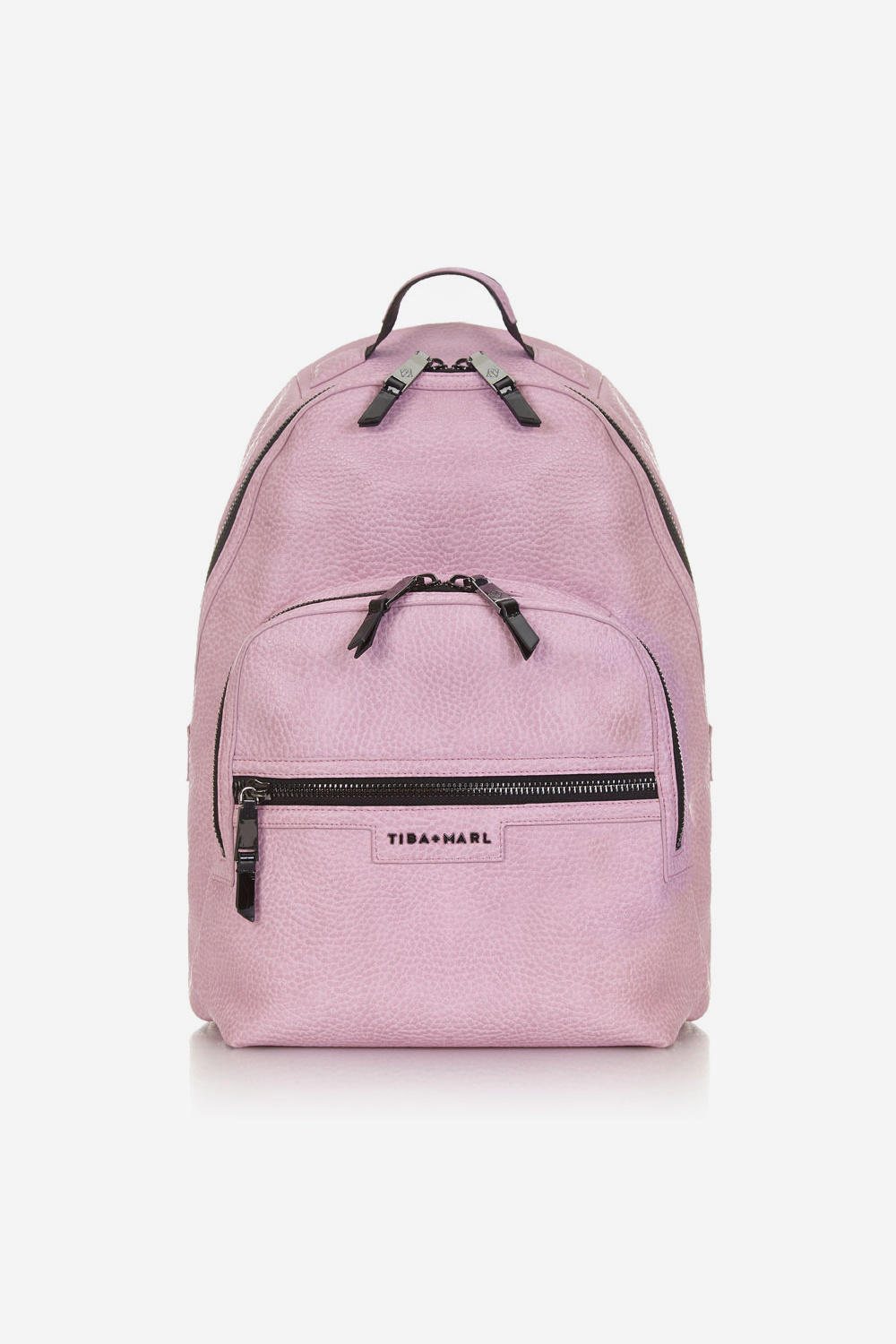 Pink changing bag, £130 Tiba and Marl