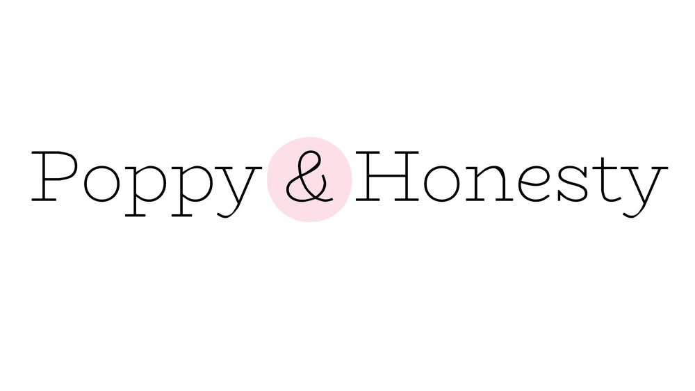poppy and honesty logo