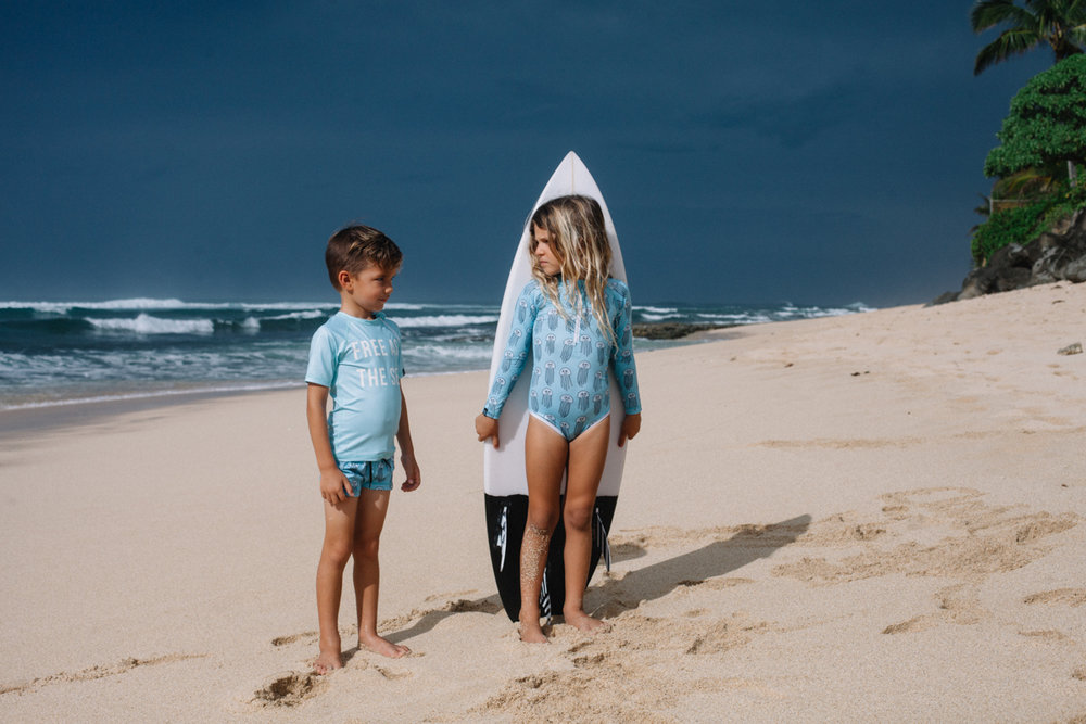 Cocoon child jellyfish swimwear
