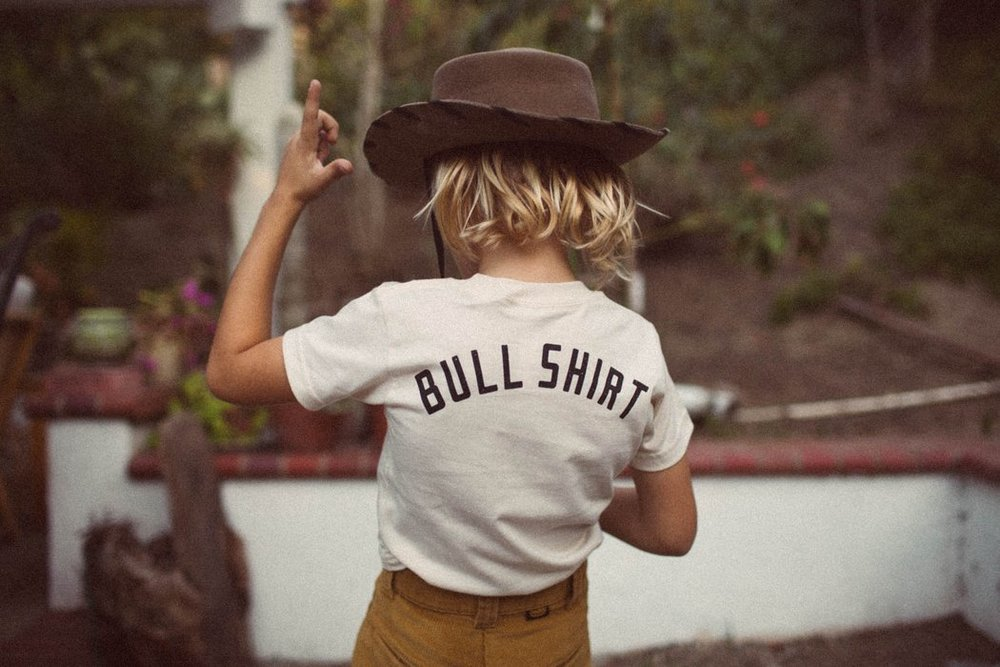 Cocoon Child Bull shirt tee