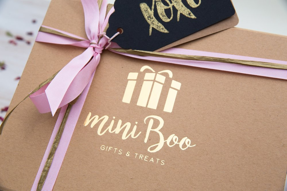 Mini Boo gift boxes