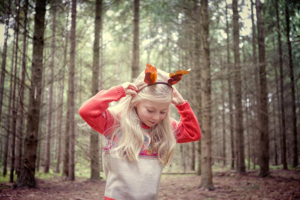 The faraway Gang girl in cute fairisle knitted jumper