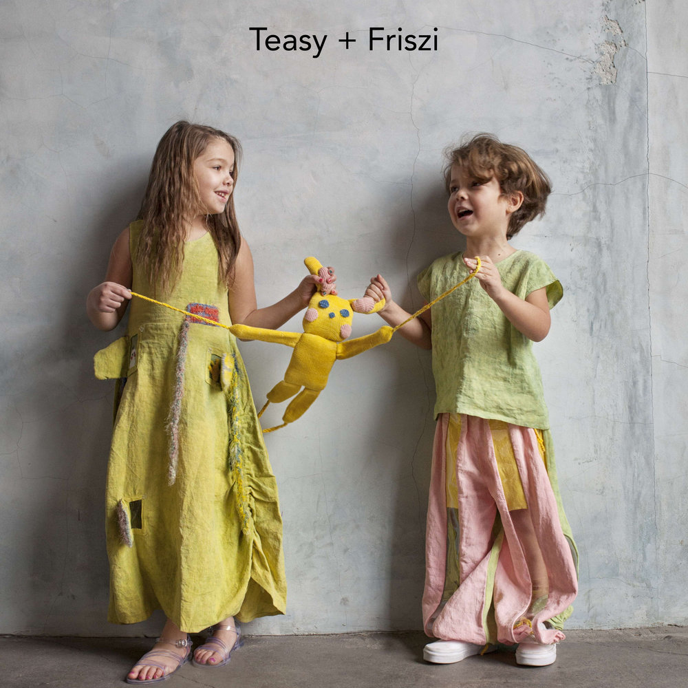 Teasy & Friszi interactive handmade collection
