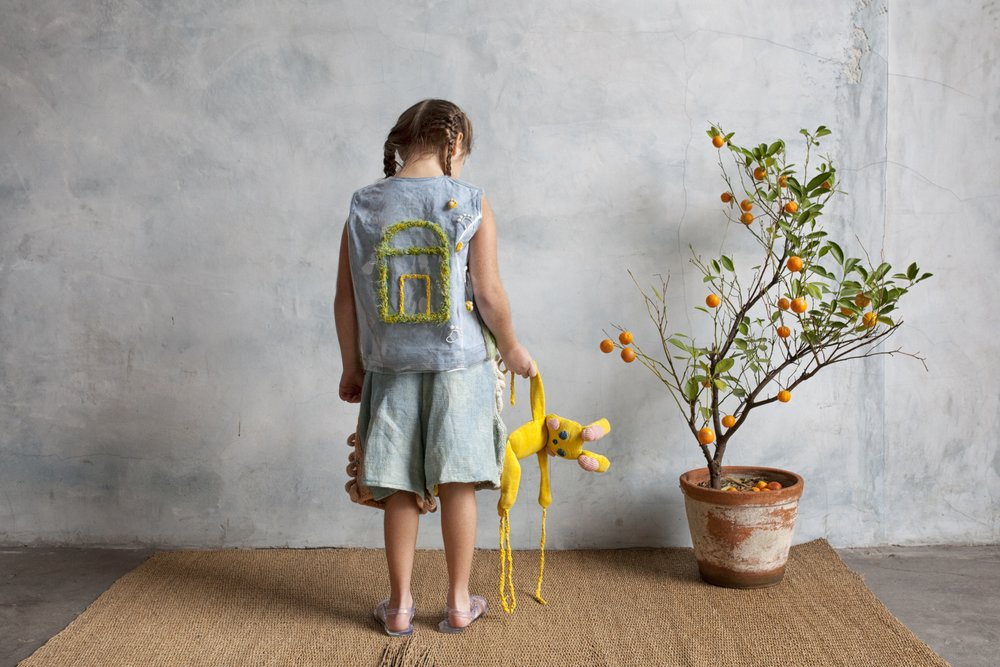 Teasy and Friszi collection of hand felted and knitted childrens clothing