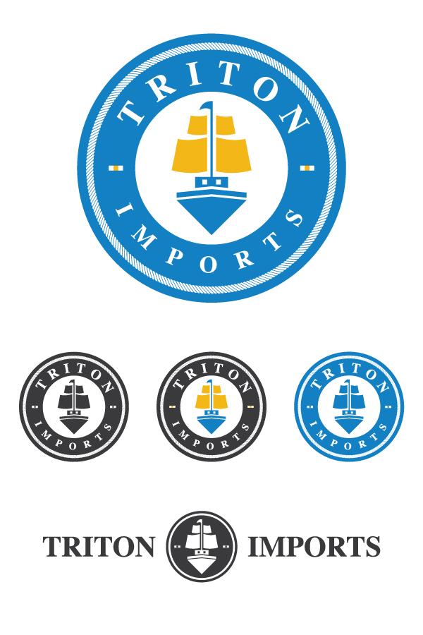 Branding / Logo identity for Triton Imports