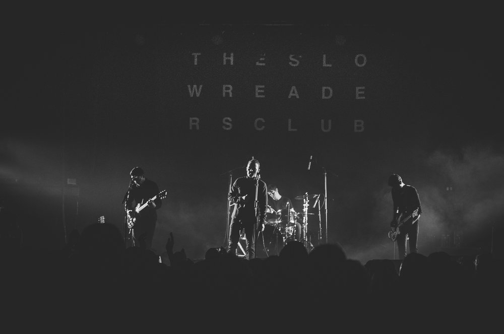 The Slow Readers Club live Ritz