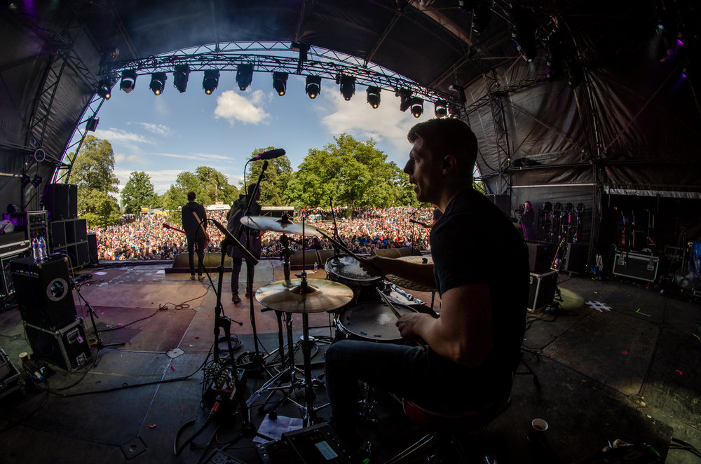 Slow Readers Club  - The Slow Readers Club live at Kendal Calling 2018
