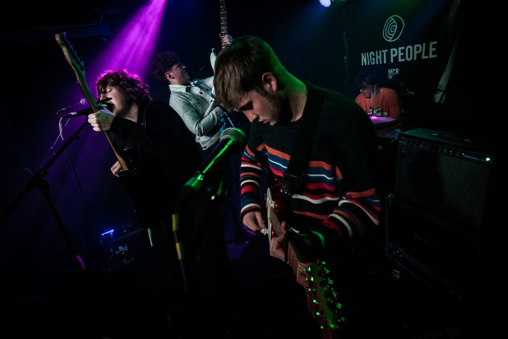 Callow Youth - live at Night People Mcr 09/03/19