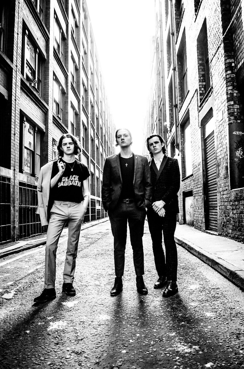 The Blinders promo shoot
