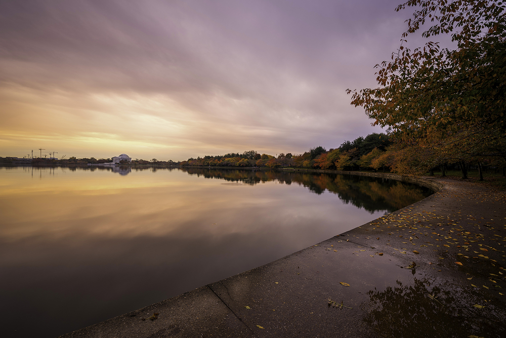Fall Sunrise On The Tidal Basin