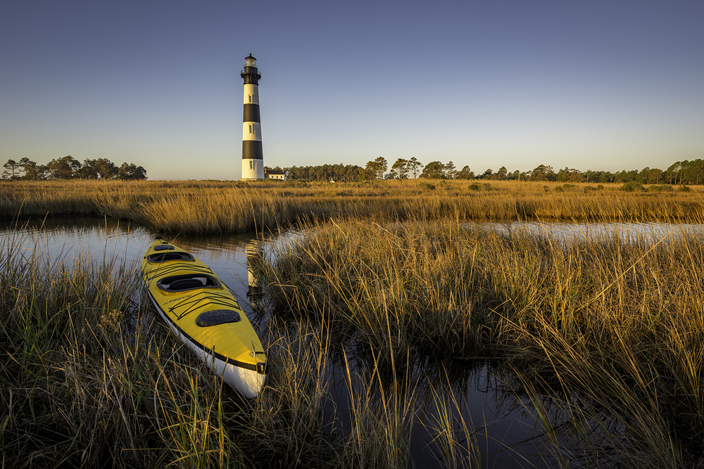 Sun Kissed (Bodie Island Lighthouse)