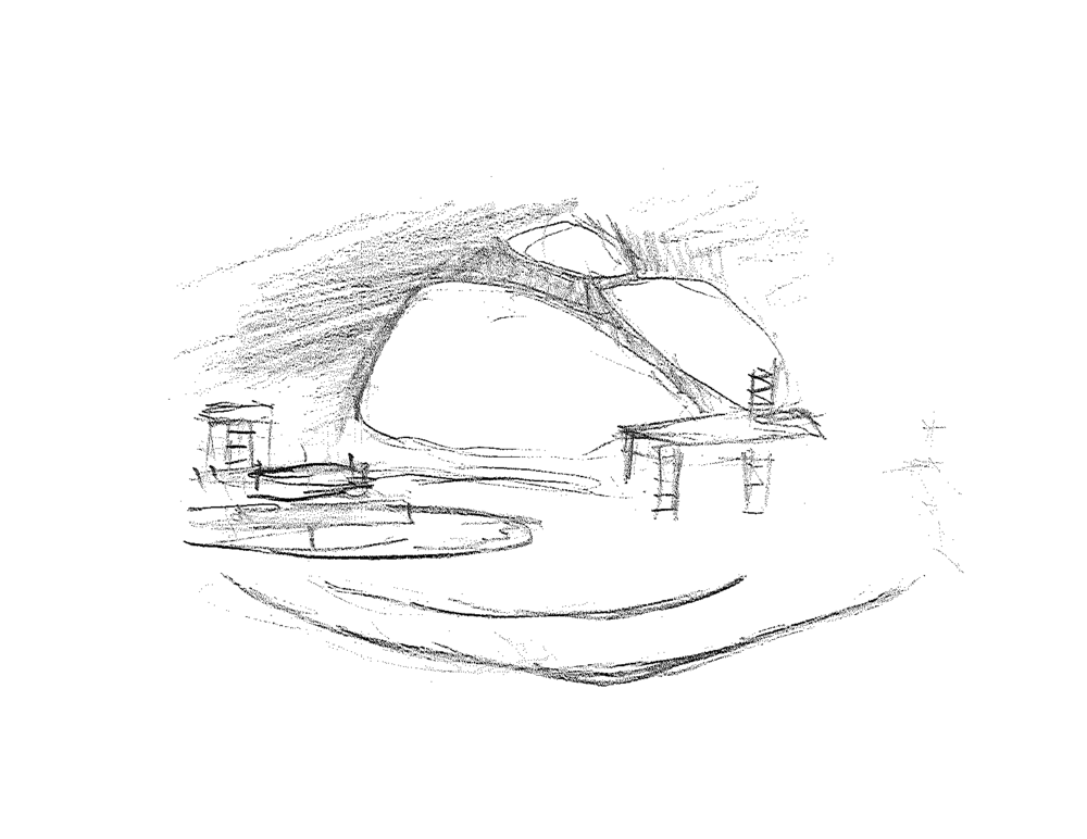 Early rough sketch