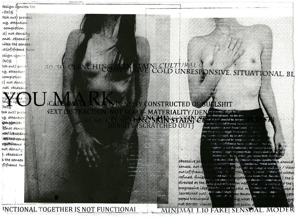 """CKM Film Still IV , lithograph & screenprint on paper, 11x15x0"""", 2017"""