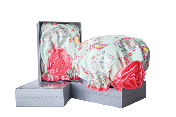 Bella il Fiore's Shower Caps are the perfect and unique gift for bathing beauties everywhere.