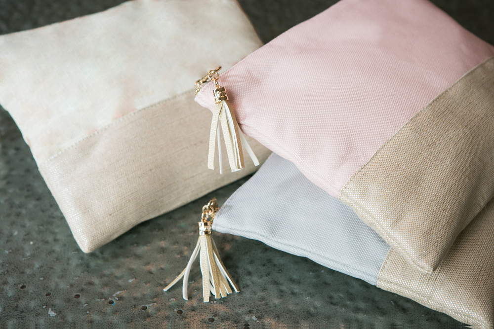 Linen Purse Pouches | Cosmetic Bags