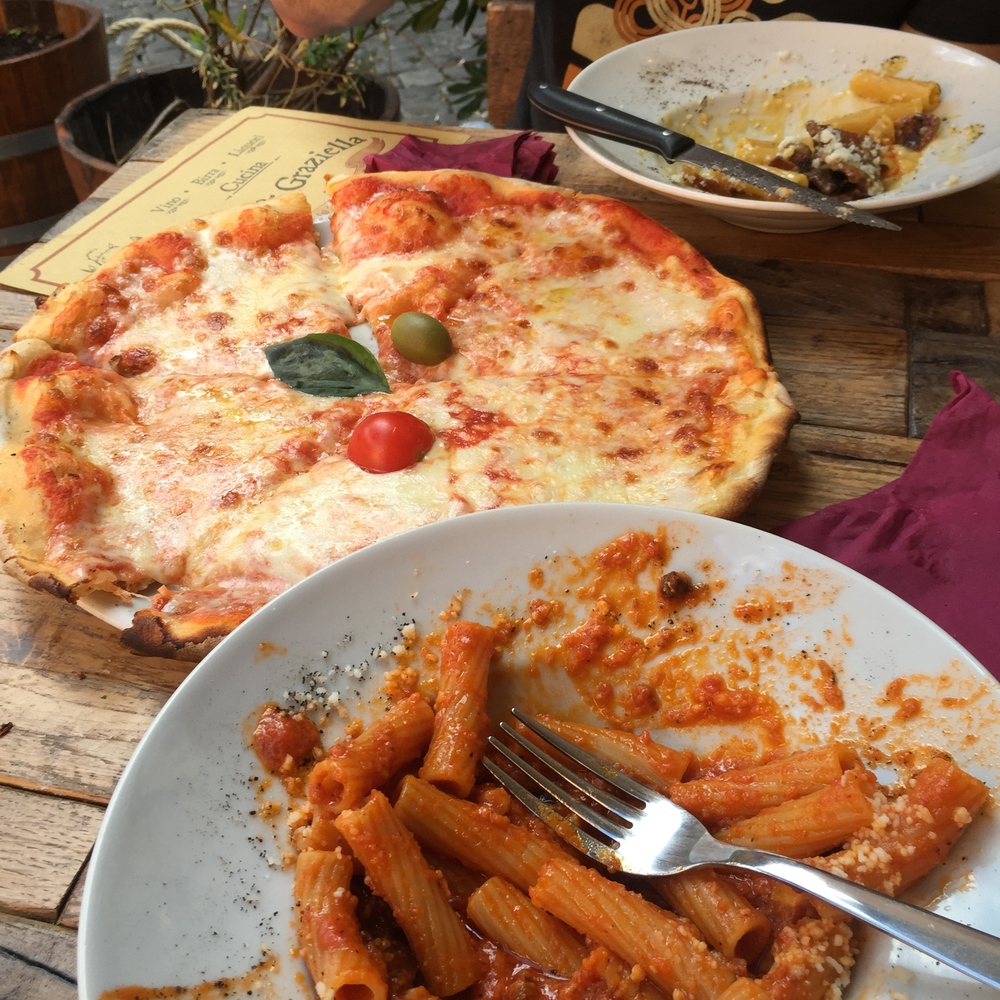 pizza pasta rome italy family travel