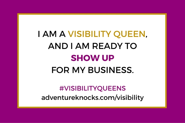 visibility queen adventure knocks challenge