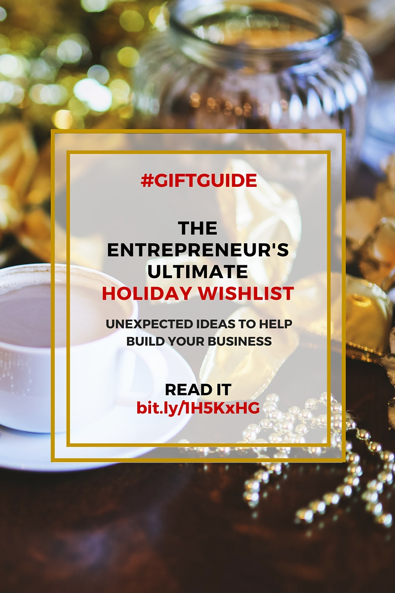 The Ultimate Holiday Wishlist - Gift Guide! What to buy for the entrepreneurial woman in your life. on the adventure knocks blog by Allison Horner
