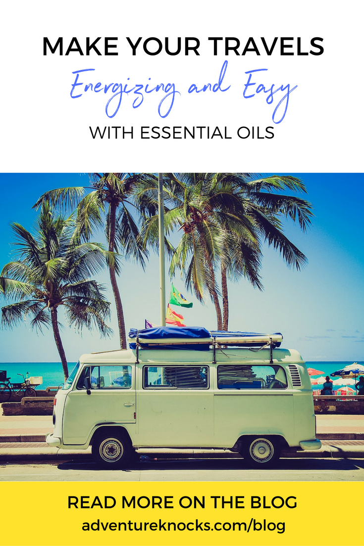Make your travels easy and energizing with essential oils