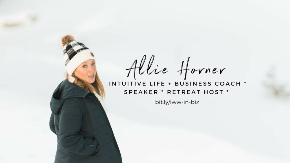 ways to work with me! intuitive coaching by Allie Horner