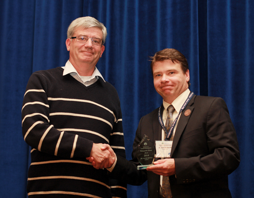 Congratulations to Dr. David Boyle, Recipient of the 2014-15 Distinguished Service Award