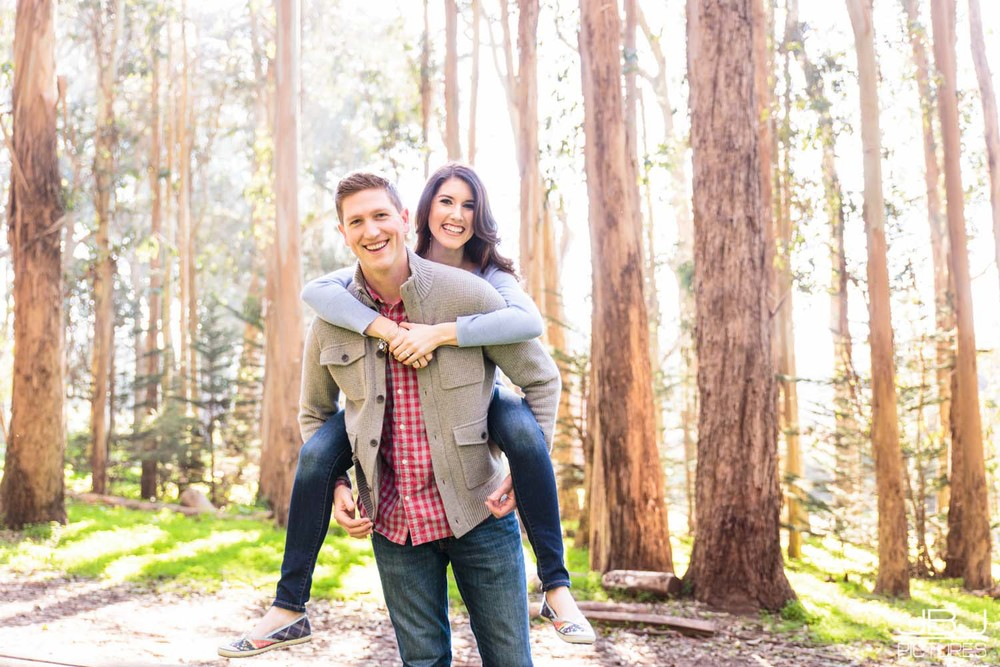 Maryellen and Ian - Engagement Session Presidio Park - JBJ Pictures Professional Wedding Photographer San Francisco