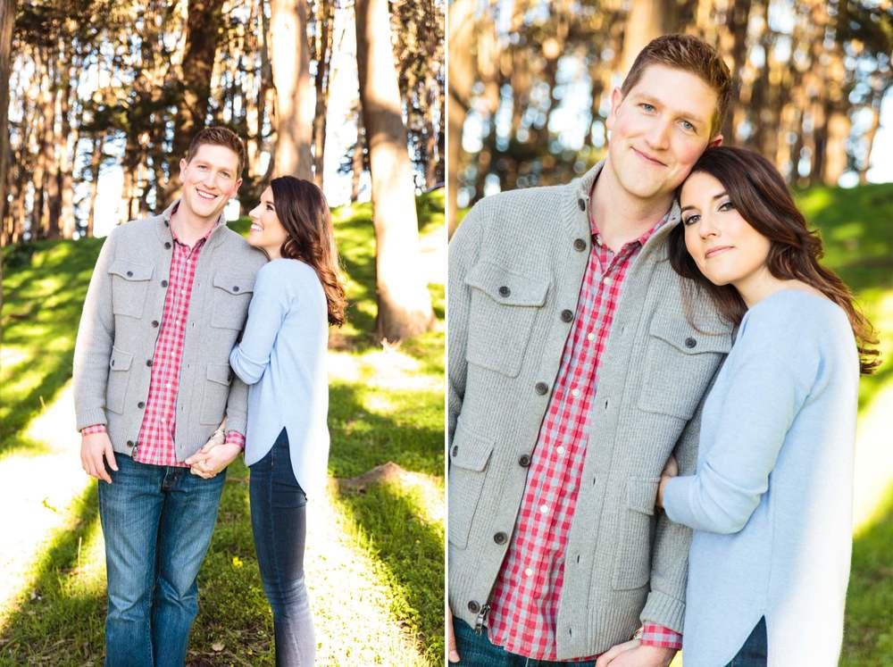 Engagement Session Presidio Park - Professional Wedding Photographer San Francisco California - Wedding Inspiration