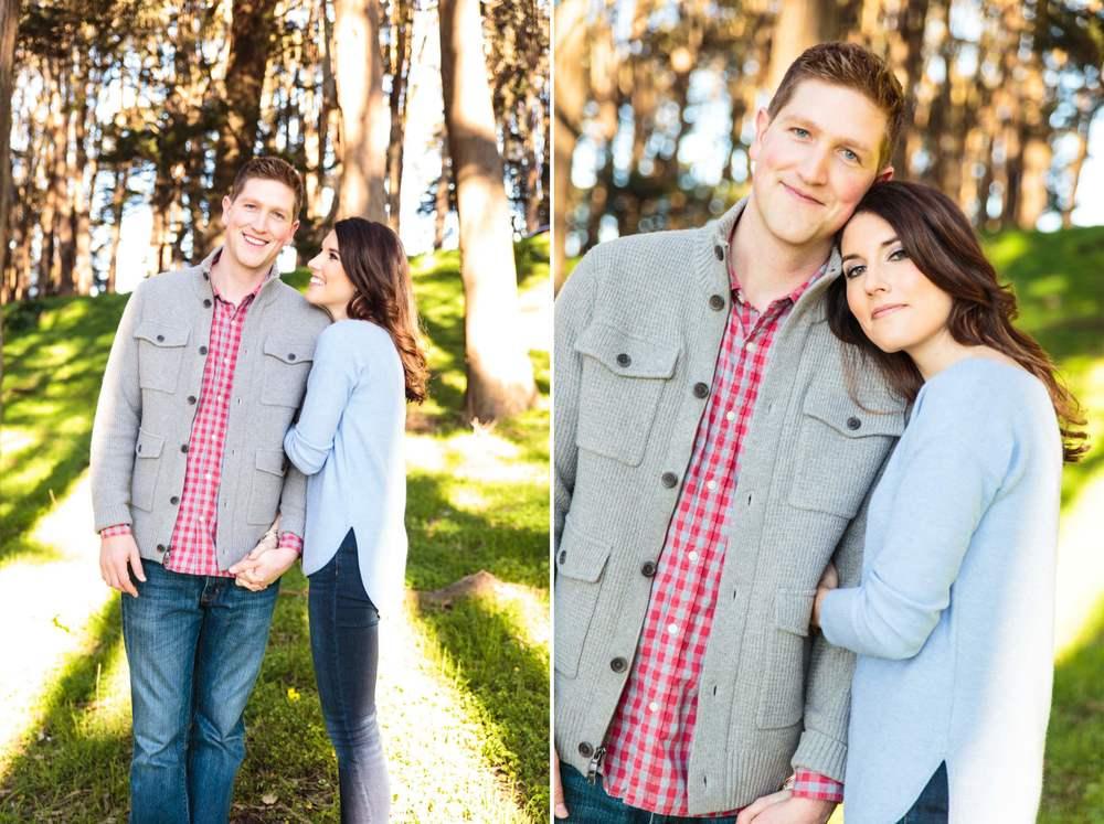 Engagement Session Presidio Park - Professional Wedding Photographer San Francisco California - Wedding Inspiration