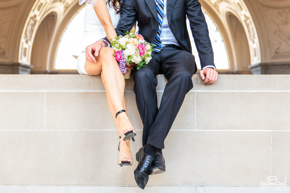 JBJPictures Professional City Hall Wedding Photographer San Francisco