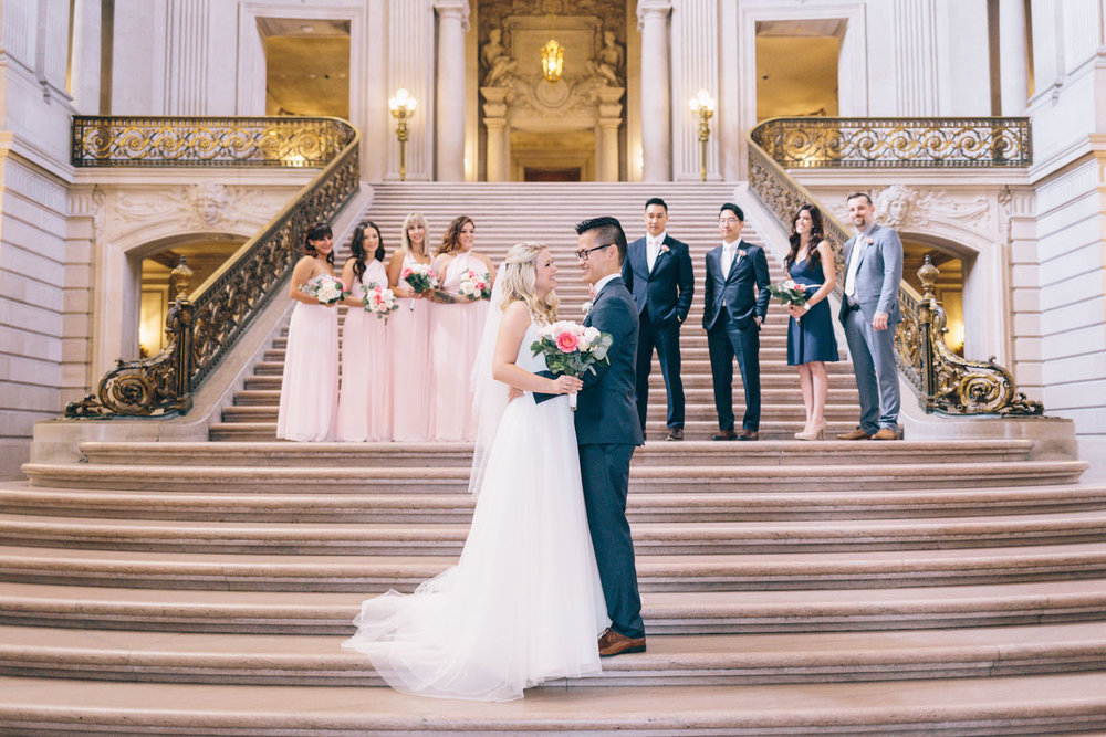 San Francisco City Hall Wedding Photos City Hall Wedding Photographer JBJ Pictures-10.jpg