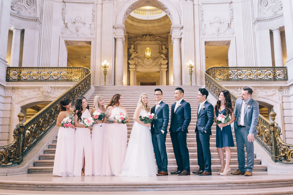 San Francisco City Hall Wedding Photos City Hall Wedding Photographer JBJ Pictures-9.jpg