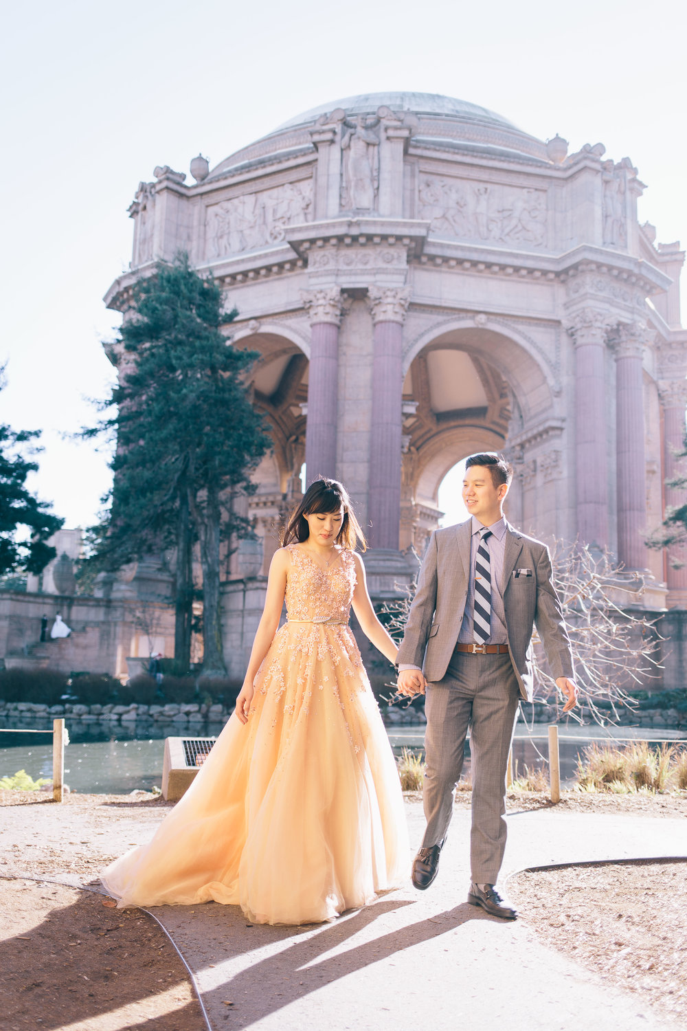 Best Engagement Photo Locations in San Francisco - Palace of Fine Arts Engagement Photos by JBJ Pictures (10).jpg