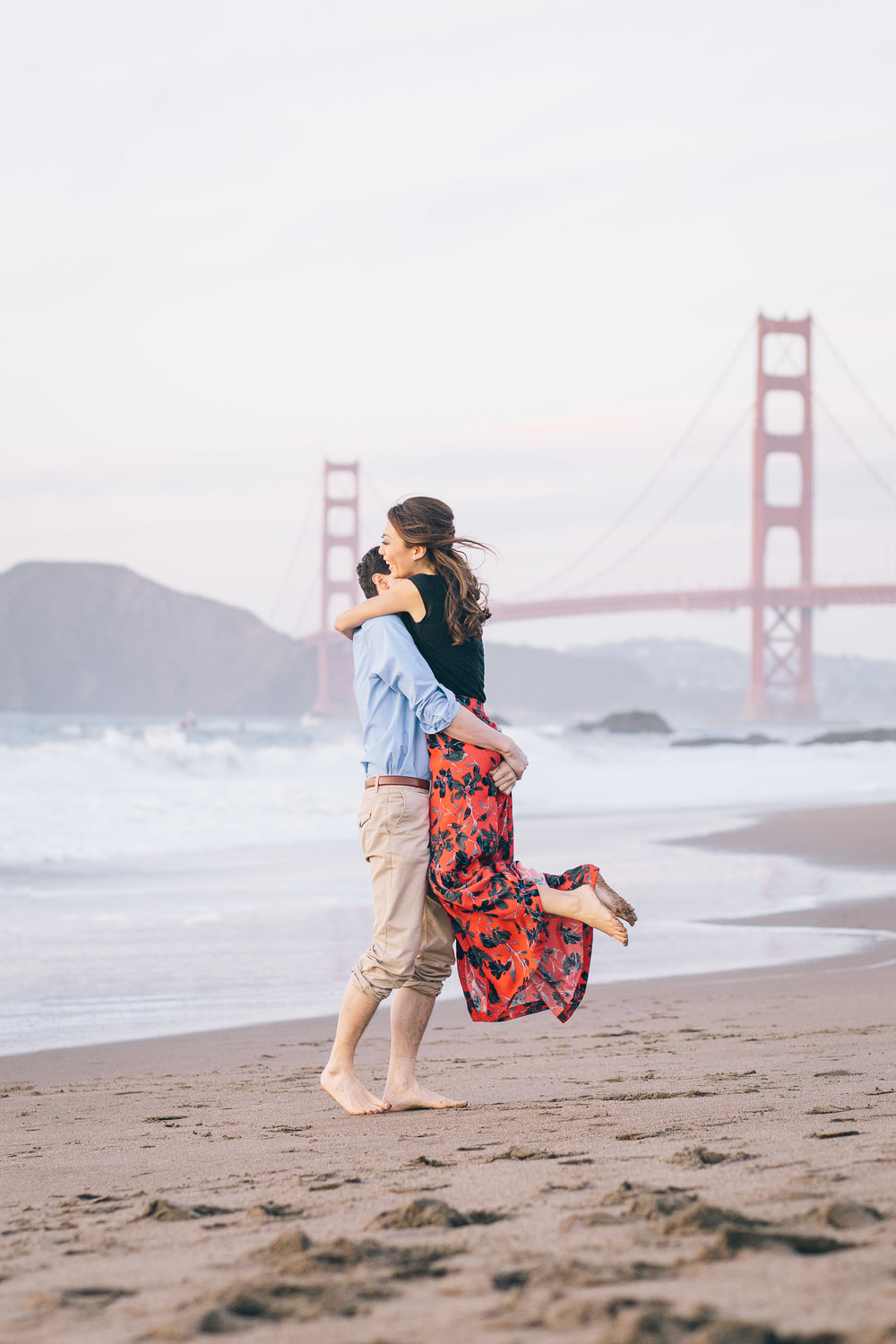 Best Engagement Photo Locations in San Francisco - Baker Beach Engagement Photos by JBJ Pictures (5).jpg