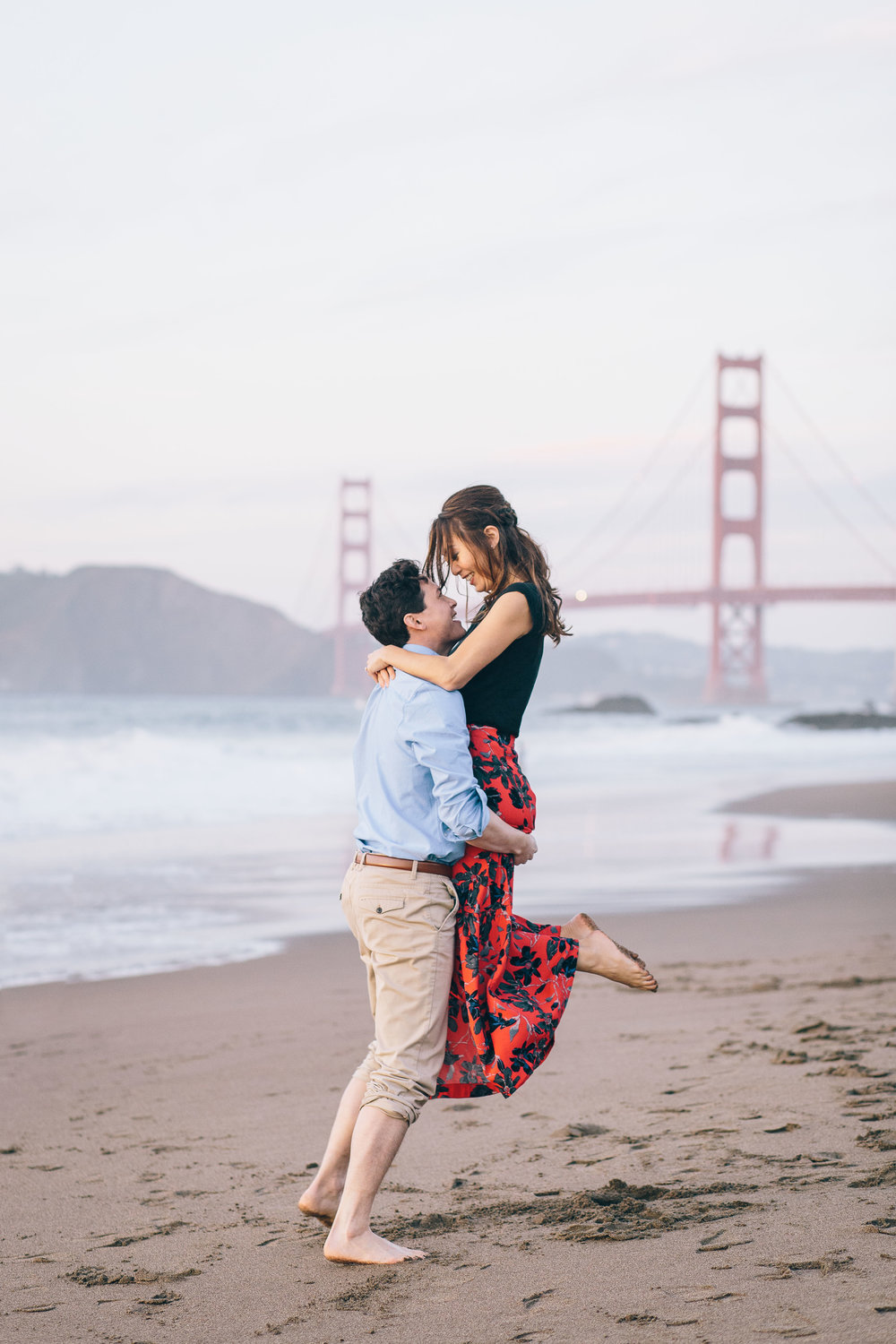 Best Engagement Photo Locations in San Francisco - Baker Beach Engagement Photos by JBJ Pictures (6).jpg