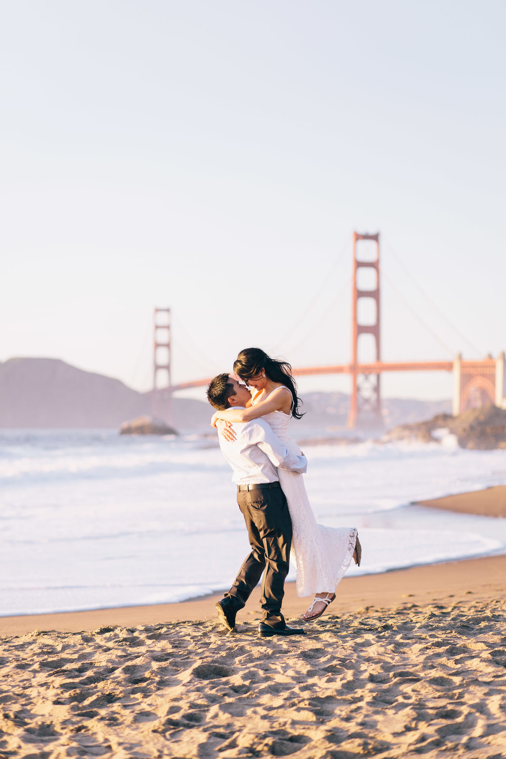 Best Engagement Photo Locations in San Francisco - Baker Beach Engagement Photos by JBJ Pictures (18).jpg
