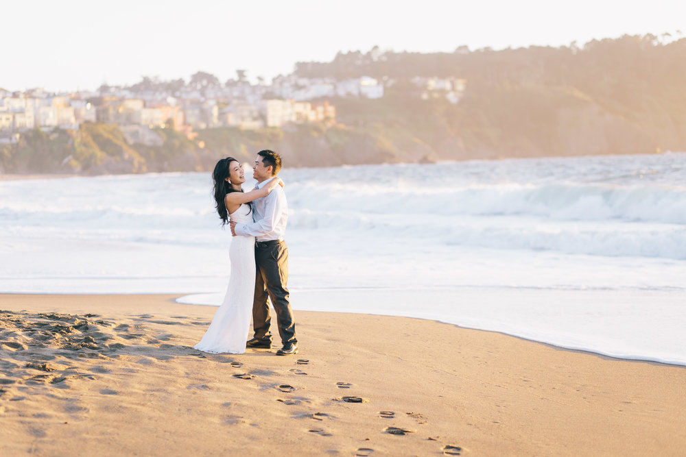 Best Engagement Photo Locations in San Francisco - Baker Beach Engagement Photos by JBJ Pictures (21).jpg