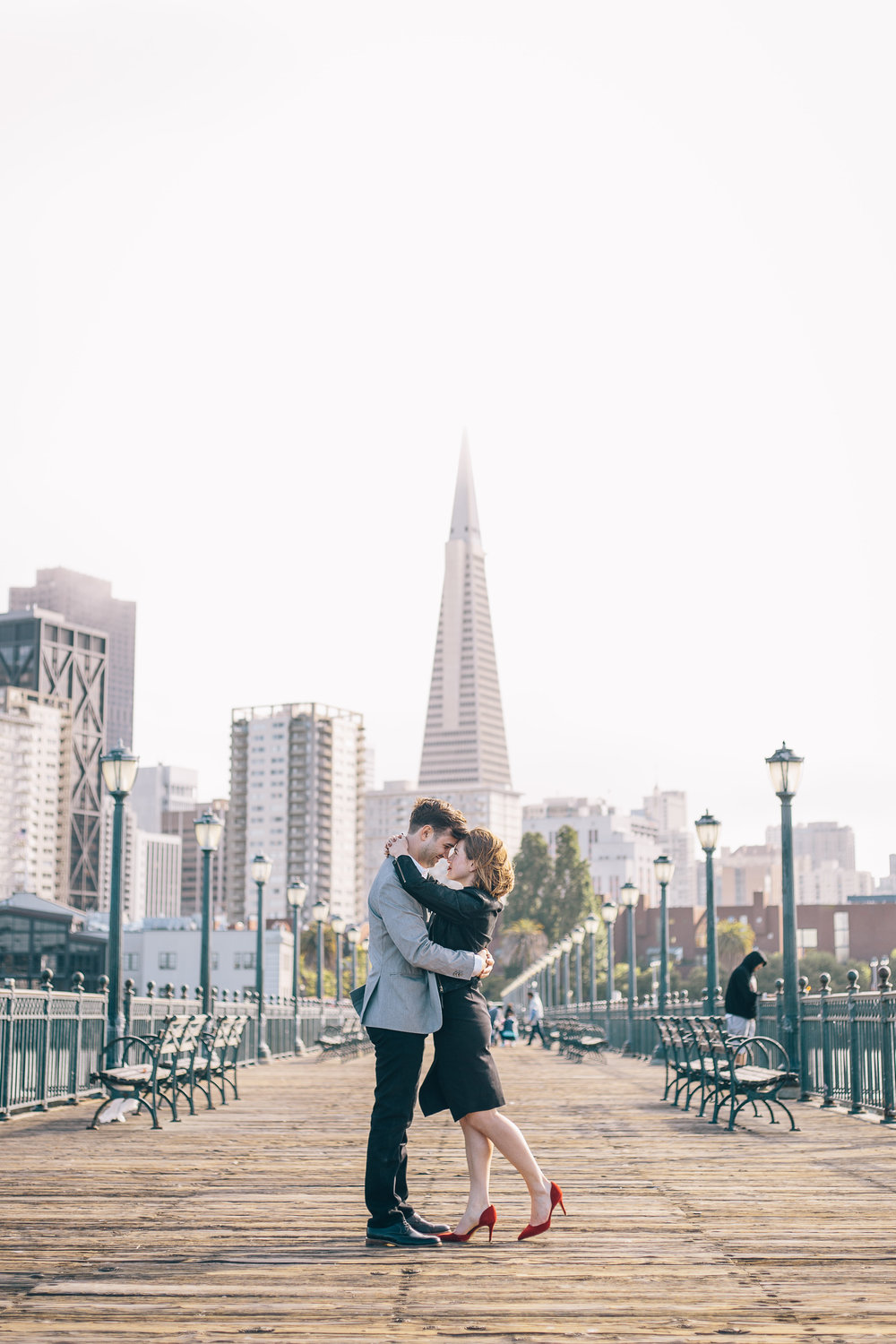 Pier 7 Engagement Photos by JBJ Pictures - Pre-wedding Photo Session in San Francisco (5).jpg