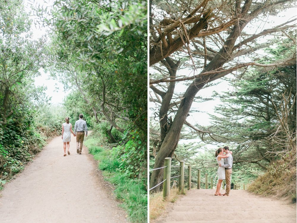 Mile Rock Beach Engagement Session - San Francisco Wedding Photographer - Foggy Engagement Photos SF (1).jpg