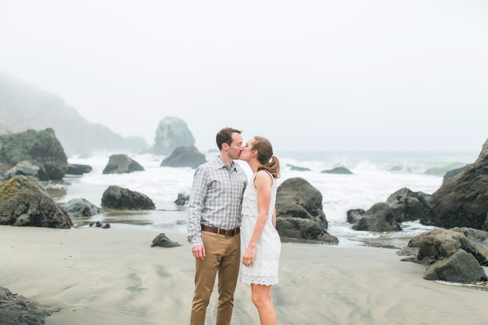 Mile Rock Beach Engagement Session - San Francisco Wedding Photographer - Foggy Engagement Photos SF (6).jpg